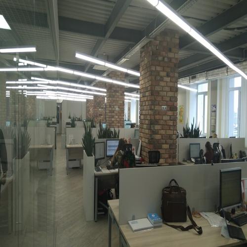 Приточно-вытяжная вентиляция с кондиционированием в офисе РОСТЕЛЕКОМ