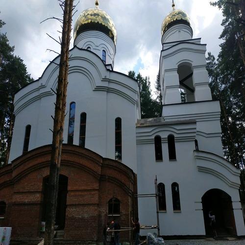 Приточная и вытяжная вентиляция в храме во имя Святителя Луки Крымского